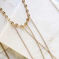 Closeup on the details of our Riya body chain. Did you know this piece is also available in silver? by haatichai