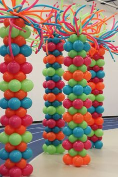 In this article we have great ideas about balloon decorations.