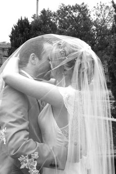 Under the veil kiss Under The Veil, Dream Come True, Picnic, Kiss, Wedding, Mariage, A Kiss, Weddings, Kisses