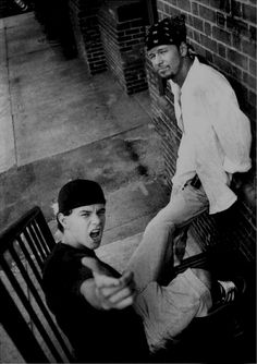 Donnie & Mark Wahlberg (I wonder if they're kinda embarrassed by these old pix & poses)