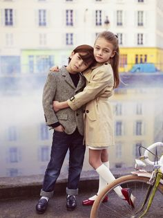Children's fashion (They look so French!)