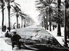 """""""Años 50, pescadores en la Rambla. Foto Josep Cortinas #Badalona #Barcelona…"""