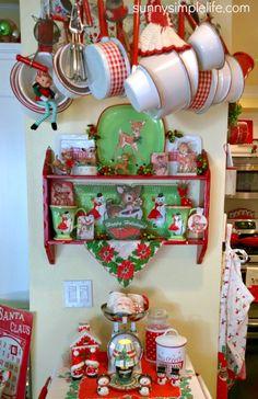 cozy Christmas cottage decor
