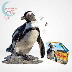 Pingvin alakú, nagy poszter méretű (76,2 cm x 62 cm) Wow forma puzzle, mely 100 darabból áll, így kezdőknek és kisebbeknek szuper választás, köszönhetően a nagyobb, körülbelül 4 cm-es kirakó elemeknek. #Puzzle #Kirakó #Kirako #WowToys #PosterPuzzle #PingvinPuzzle #Pingvin Whale, Animals, Whales, Animales, Animaux, Animal, Animais