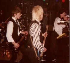 Johnny Thunders in Oslo at Sardines Feb 88