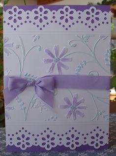 Prismacolor pencil -   scor- pal -   stylized flower folder - copic markers - stardust stickles -  de Martha Stewart