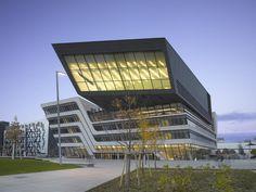 Library & Learning Centre, University of Economics Vienna - Zaha Hadid, 2013