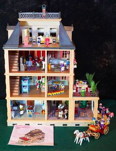 PLAYMOBIL Victorian Mansion Dollhouse 5300 Floor Sunroom Balcony 3 Panels for sale online 2nd Floor, Sunroom, My Ebay, Balcony, Extensions, Victorian, Flooring, Dolls, Mansions