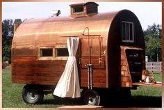 Wagon w/shower. Gypsy Caravans Vardos & Wagons <O Gypsy Caravan, Gypsy Wagon, Gypsy Trailer, Vintage Travel Trailers, Vintage Campers, Vintage Motorhome, Gypsy Living, Rv Living, Cool Campers