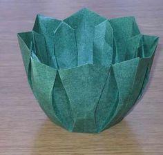 origami bowl