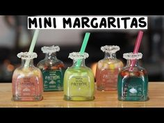 Do not get everybody inappropriate, we nonetheless completely love a margarita​, but there aren't any cause for each of your tequila venture to finish with the sea salt edge. Cocktail Drinks, Fun Drinks, Yummy Drinks, Alcoholic Drinks, Liquor Drinks, Beverages, Bourbon Drinks, Craft Cocktails, Patron Tequila