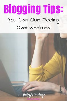 Blogging Tips: You Can Quit Feeling Overwhelmed with the Genius Blogger's Toolkit With blogging, it is so easy to become overwhelmed with how quick everything changes! How can you stay up to date? See why I love Genius Blogger's Toolkit! haleysvintage.com...