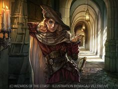 Ballot Broker - Artwork by Magali Villeneuve for Magic the Gathering