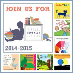 Toddler Approved!: Join Us for Virtual Book Club for Kids 2014-2015!