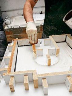 Apply Paste Wax #concretefurniture