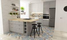 Kuchnia styl Skandynawski - zdjęcie od Grafika i Projekt - Kuchnia - Styl Skandynawski - Grafika i Projekt