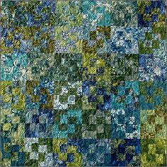 Eclipse Quilt pattern by Janine Burke by NeedleDownFabrics on Etsy