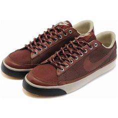 low priced 66a51 bb86d Men Nike Blazer Low Shoes Brown