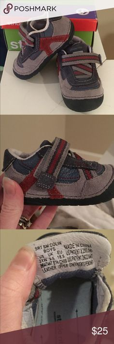 Toddler shoes Brand new stride rite infant shoes! My son out grew these before he had a chance to even wear them! Hard to find XW shoes. Stride Rite Shoes Baby & Walker