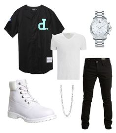 """""""Diamond """" by djtillman ❤ liked on Polyvore featuring Diamond Supply Co., American Vintage, SELECTED, Timberland, BERRICLE and Movado"""