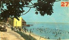 Balneario de la ciudad de Manzanillo,años 40.