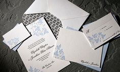 Browse our wedding stationery to find the perfect wedding invitations, save-the-dates, thank you cards, table numbers and more. Wedding Stationery, Wedding Invitations, Invites, Perfect Wedding, Our Wedding, Wedding Ideas, Letterpress Invitations, Leaf Design, Save The Date