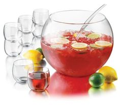 A Christmas Sangria with fresh fruit and white wine.