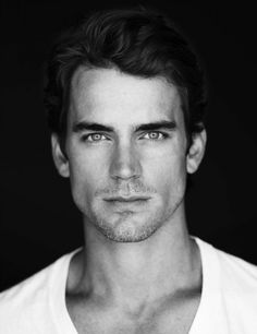 Matt Bomer. I don't even know who he is, but WOW, is he handsome!