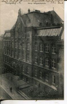 Königsberg Pr.                       Königl. Baugewerkschule   ca.1915