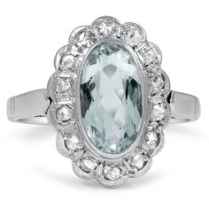 18K White Gold The Eilene Ring from Brilliant Earth