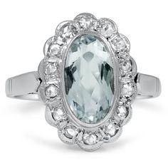 18K White Gold The Eilene Ring from Brilliant Earth