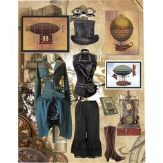 """Steampunk Pride"" by thegirlwhono-oneknows on Polyvore"