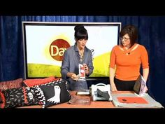 Check out Sizzix on Living with Lindee with The Lindee Tree ! She's showing viewers how to make Decorative Halloween Pillows with Sizzix!  Watch it: http://youtu.be/HfIfyKsqjyw