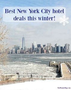 Hotel costs are among the biggest part of any vacation budget, find the best rebates and hotel discounts in New York City this winter right here. #NYC #travel #hotel