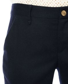 rag & bone Official Store, Eloise Pant, dark navy fl, Womens : Ready to Wear : Pants, W2367062G