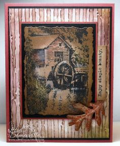 Stamps - Artistic Outpost Old Grist Mill Old Grist Mill, Vintage World Maps, Stamps, Artist, Seals, Artists, Postage Stamps, Stamp