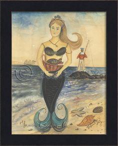 Mermaid from Avalon - Love Kolene Spicher's work!