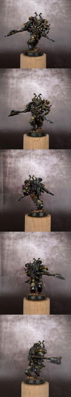 Chaos Space Marine Champion - better photos