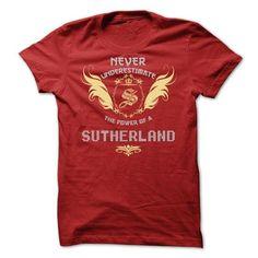 SUTHERLAND Tee - #tee shirt design #transesophageal echo. FASTER => https://www.sunfrog.com/Funny/SUTHERLAND-Tee.html?id=60505