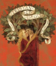 ''Tristan et Iseult '' illustrated by Anna + Elena Balbusso