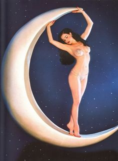 The moon is the best for dancing.