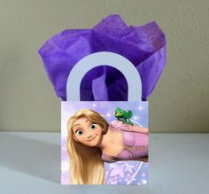 10 Rapunzel Tangled Favor Boxes Centerpieces by CutePartySupplies