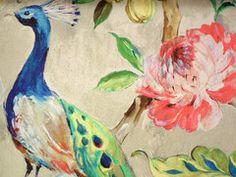 Arundel Peacock Wallpaper | The Inside