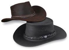 Amazon.com: Kakadu Crushable Leather Hat: Clothing