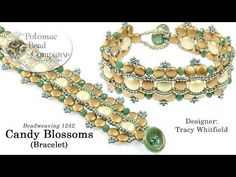 Candy Blossoms Bracelet Tutorial - YouTube