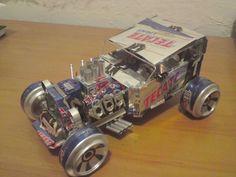 Slikovni rezultat za autos hechos con latas de aluminio