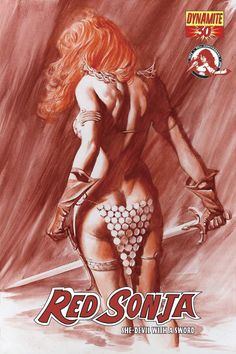 Amiable Red Sonja Dynamite #0 2005