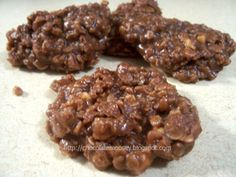 No Bake Chocolate Peanut Butter Oat Cookies