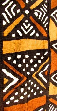 African mud cloth, A must have, love it ! Ethnic Patterns, Textile Patterns, Textile Design, African Patterns, Fashion Patterns, Japanese Patterns, Floral Patterns, African Textiles, African Fabric