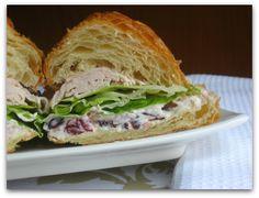 Restaurant Inspiration [Cranberry Walnut Sandwich Spread]